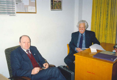 Years later: E. Lyubimsky and I. Zadykhailo