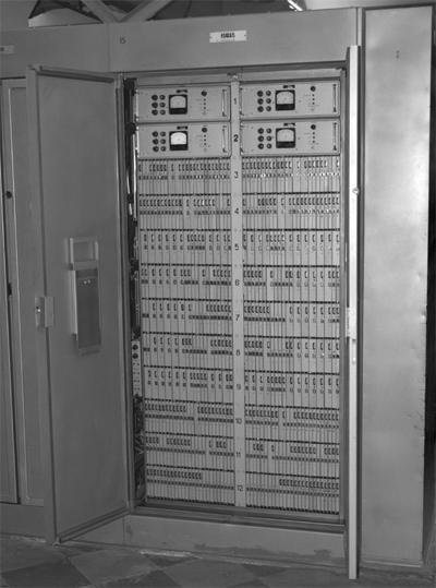 Шкаф №15 (НЧ15 и НЧ16) ЭВМ К340А